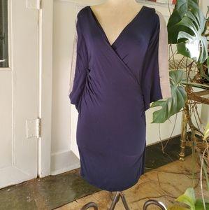 Dark Blue Party Dress